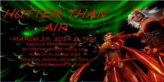 Hotter Than Air Burnal Equinox, March 28th – 30th