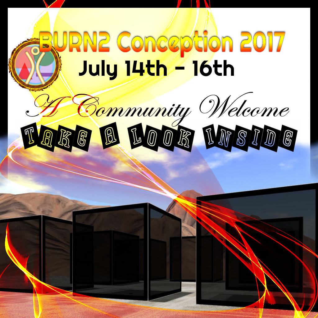 """BURN2 Conception Invitation to Builders: """"Take a Look Inside"""""""