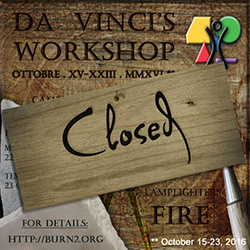 Da Vinci's Workshop is Closed – Help Needed!