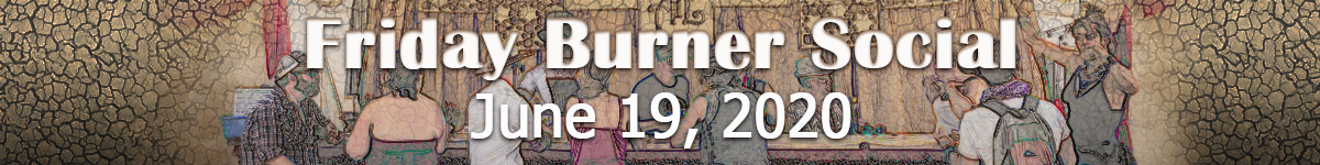 Header Image - Friday Burner Social