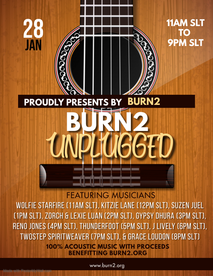 Burn2 Unplugged